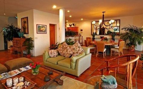 Living Area Casa Amie