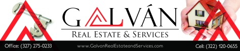 Galvan Realstate and services banner