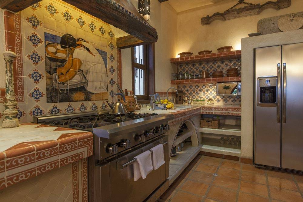 Azulejos cocina rusticos beautiful al alandalus with for Cocinas estilo mexicano