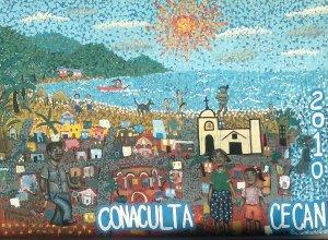 Lo de Marcos Elementary School Painting