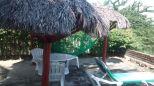 Outside Table Villa La Cruz