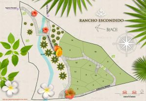 Lot Escondido plot map