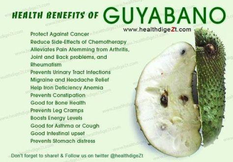 Guanabana Benefits