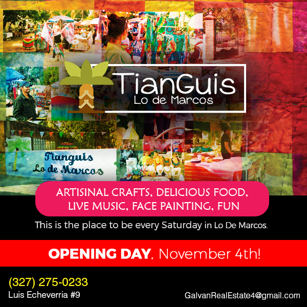 Tianguis Lo De Marcos Opens on November 4th in Riviera Nayarit